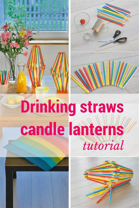 Glass Candle Holders Wrapped Sandwich Paper Raffia Ribbons by 151 Best Images About Diy Home Decorating Ideas On