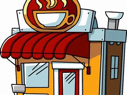 Clipart Coffee Restaurant Transparent Building Jing Fm