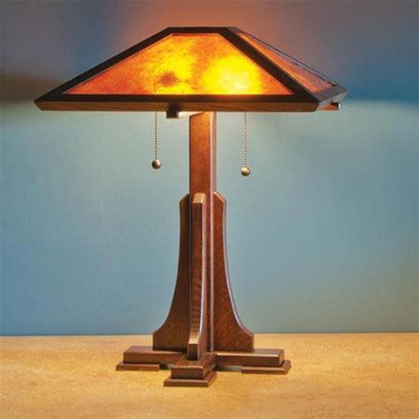 woodcraft magazine arts craft lamp paper plan