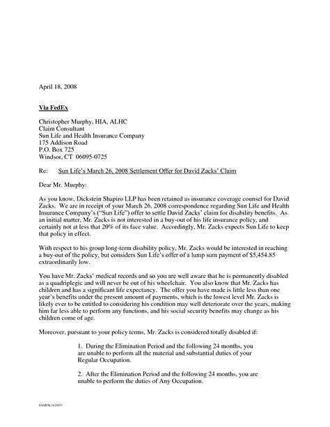 And Settlement Offer Letter Template by 9 Best Images Of Settlement Letter Sle Debt