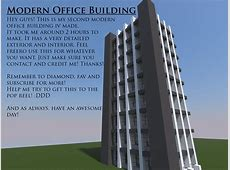 Height Modern Office Building Minecraft Project