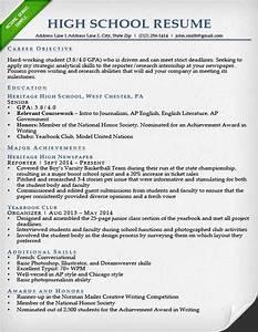 college resume samples for high school senior best With high school senior resume template