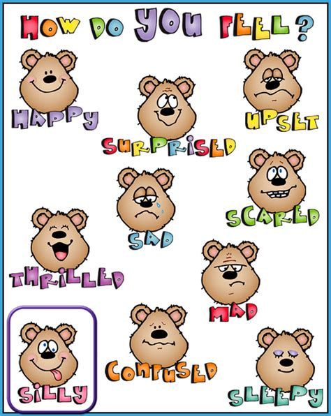 Feelings Clipart Emotions Cliparts