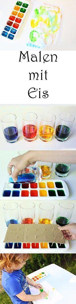angebote für krippenkinder farben 5 ideen zum malen und spielen mit eis im sommer