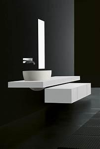 Vasque à Poser Design : vasque en pierre naturelle pour une salle de bains moderne ~ Edinachiropracticcenter.com Idées de Décoration