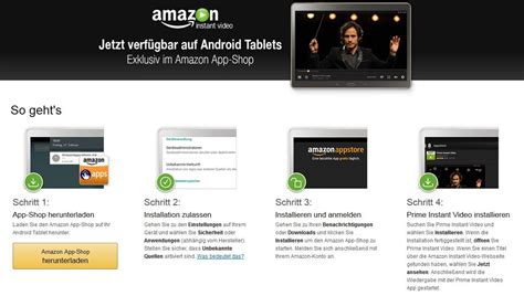 prime instant android macht prime instant auch f 252 r android tablets