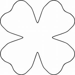 Flower Petal Template Printable - Cliparts.co