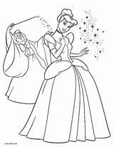 Cinderella Coloring Printable Disney Sheets Princess Colorir Colouring Cinderela Cenicienta Fada Colorear Imprimir Dibujos Rags Duathlongijon Cool2bkids Sheet Cinderalla Desenhos sketch template