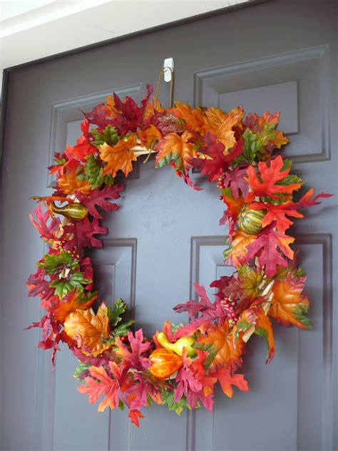 make your own fall wreath thrifty and thankful make your own fall wreath