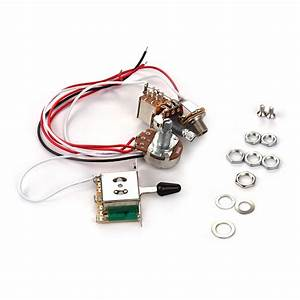 Electric Guitar Wiring Harness Kit Replacement With 1