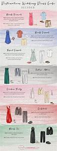 Destination wedding dress codes explained the for Wedding dress code