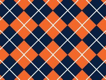 denver broncos inspired navy  orange digital