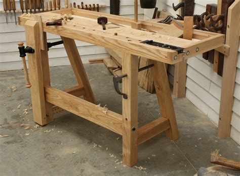 small woodworking bench   john hand tool workbench