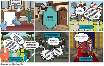 Revolution French Madiyah Storyboard Slide