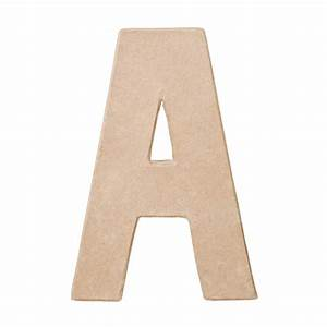 paper mache letter quotaquot paper mache basic craft With paper mache craft letters