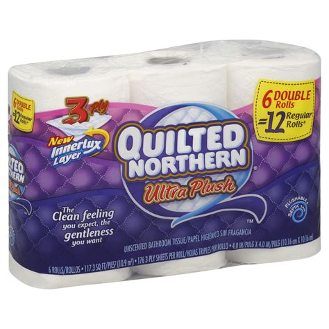 quilted northern ultra plush quilted northern ultra plush toilet tissue 6 rolls