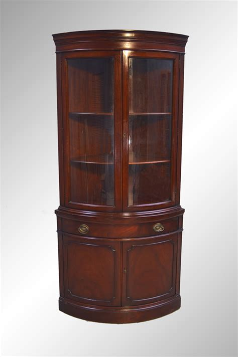 Duncan Phyfe China Cabinet Mahogany by Sold Mahogany Corner China Cabinet Duncan Phyfe Maine