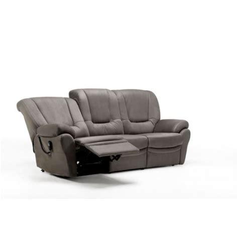 canapé largeur canape relaxation brissac largeur 220 arrivages soustons