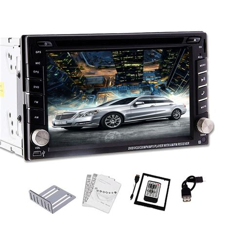 Double Din 62 Inch Digital Touch Screen Car Stereo Dvd
