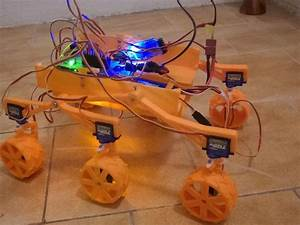 Build Your Own 3D Printed Mars Curiosity Rover Featuring ...