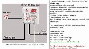 Dayton Off Delay Timer Wiring Diagram