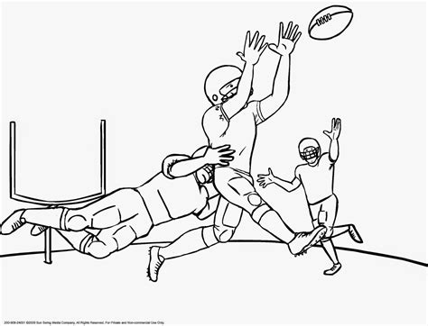 Ncaa Football Coloring Pages Coloring Pages