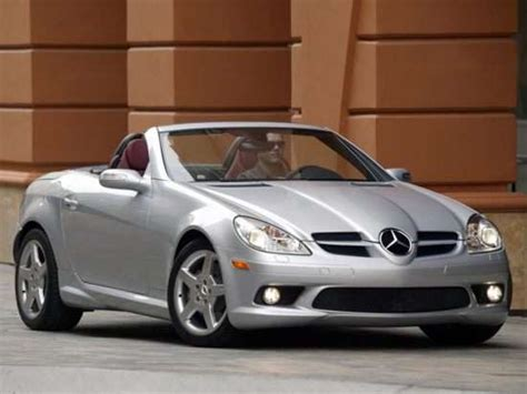 2005 Mercedes-benz Slk-class Models, Trims, Information