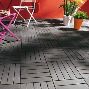 Dalle De Terrasse Composite : tuile en composite ezclip aux meilleurs prix pour patio et terrasse gsq ~ Melissatoandfro.com Idées de Décoration