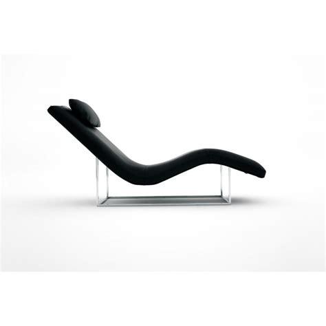 chaise longue de salon chaise longue de salon italienne cuir ou tissu san diego xp