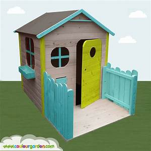 Maison De Jardin En Bois Enfant : idee peinture cabane bois jk81 jornalagora ~ Dode.kayakingforconservation.com Idées de Décoration
