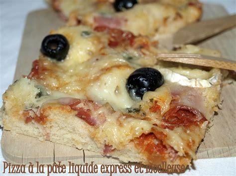 pizza 224 la p 226 te liquide express et moelleuse dans vos assiettes