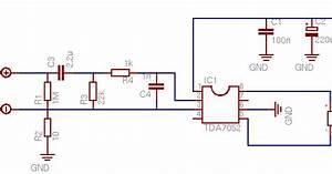 5v Audio Amplifier Circuit Diagram