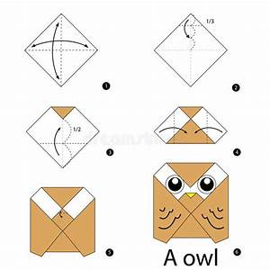 Comment Faire Des Origami : instructions tape par tape comment faire le hibou d ~ Nature-et-papiers.com Idées de Décoration