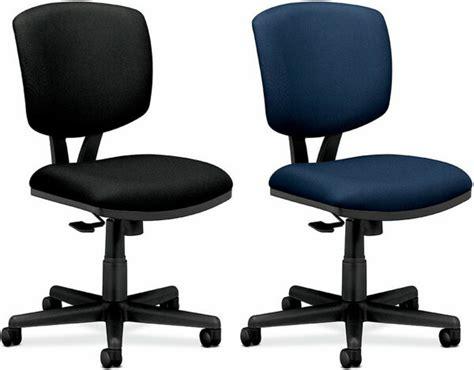 armless desk chairs hon volt series armless desk chair