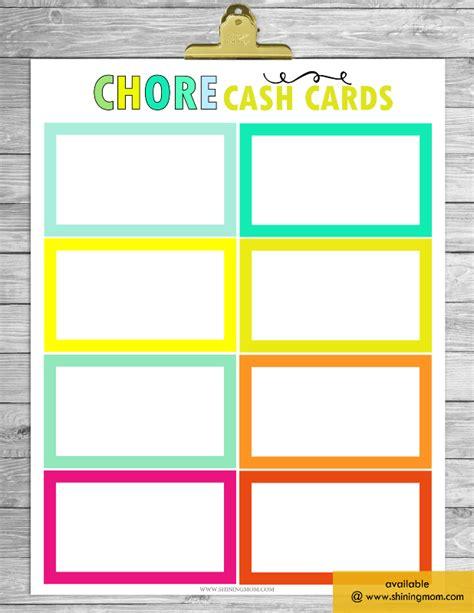 printable chore charts  work