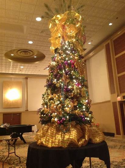 Christmas Decorations Mardi Gras Tree Creations Ladder