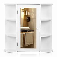bathroom cabinet storage Wall Mount Bathroom Cabinet Storage Organizer Medicine ...