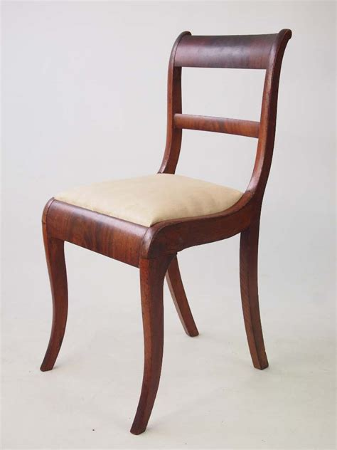 antique side chairs for pair antique regency side chairs 7488
