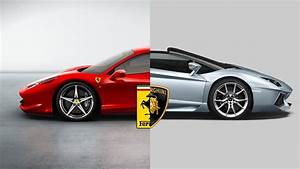 Ferrari Vs Lamborghini : ferrari vs lamborghini or you may call funny horse and bull fight youtube ~ Medecine-chirurgie-esthetiques.com Avis de Voitures