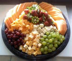 Fruit and Cheese Tray Platters
