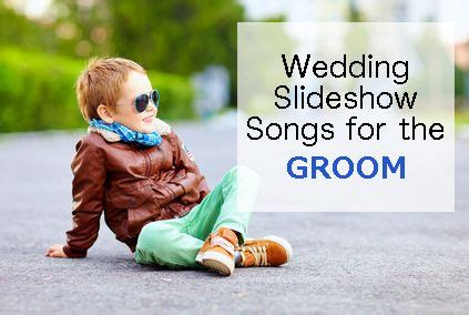 The song famously plays during the end credits of the movie knocked up. 9. Wedding Slideshow Songs for the groom growing up. #slideshow #wedding #weddingmusic | Wedding ...