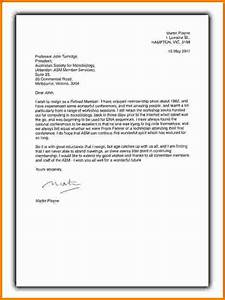 7 format of a standard business letter expense report With australian business letter template