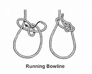 running bowline knot With bowline diagram