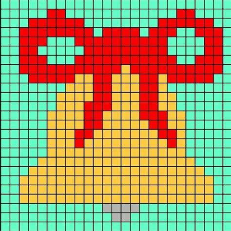 ein  pixel grosses pixelbild einer glocke zb fuer