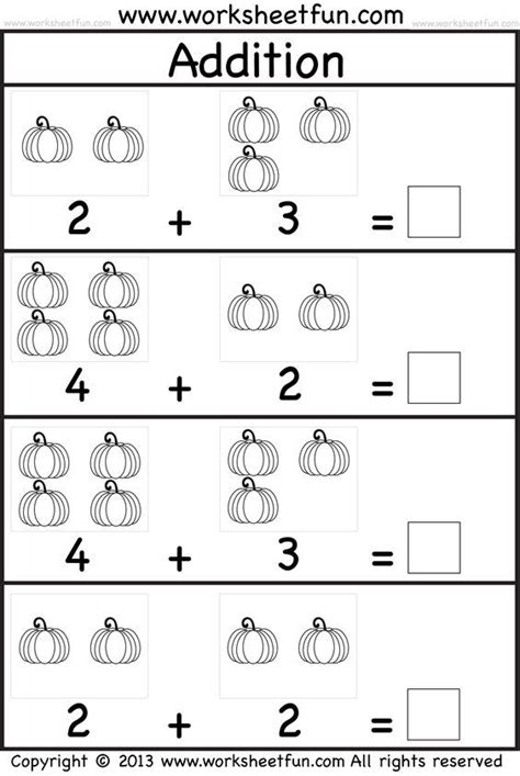 kids practice adding single digit numbers  writing