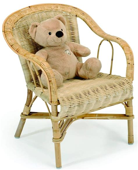 fauteuil enfant rotin crapaud la vannerie d aujourd hui