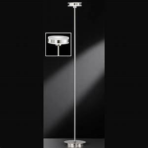 Stehlampen Led Mit Dimmer : futuristische led stehlampe in mattnickel ~ A.2002-acura-tl-radio.info Haus und Dekorationen