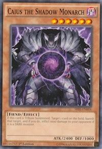 monarch structure deck caius the shadow monarch structure deck emperor of