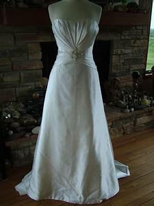 wedding dress diamond white strapless figure flattering With flattering wedding dresses