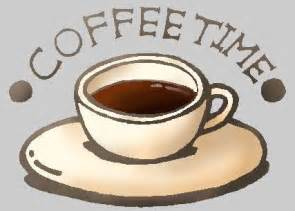Coffee Time Clip Art Free
